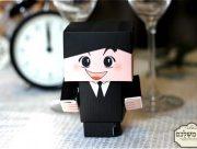 קופסת חתן וכלה דמוי לגו - מזכרת לאורחים בחתונה מזכרות לאורחים בחתונה מתנות לאורחים בחתונה מתנה לאורחים בחתונה מזכרות לאירועים