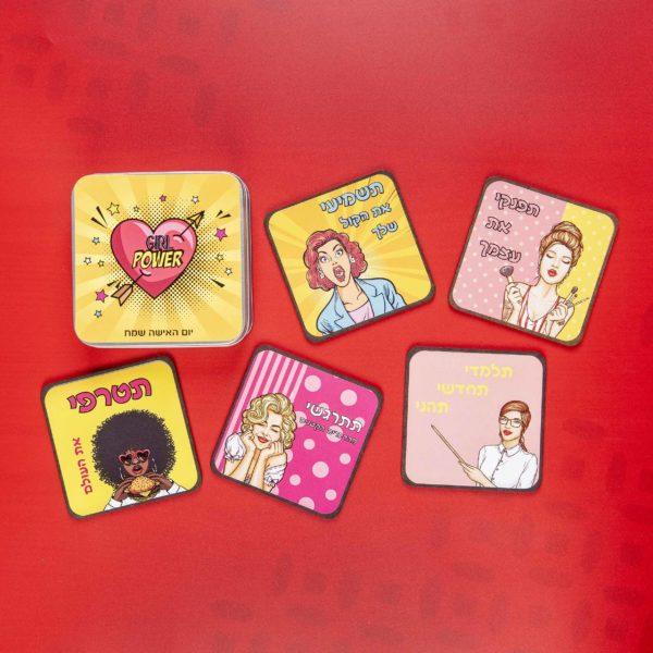 קוסטרים - מתנות ליום האישה - נופך משלכם