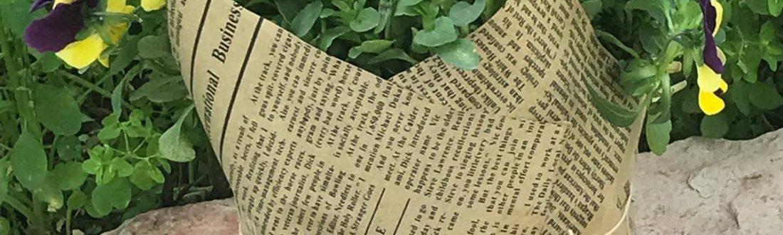 עציצים עטופים - שערי רמלה - נופך משלכם