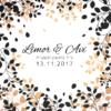 אהבה בסתיו - הזמנה לחתונה - נופך משלכם