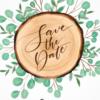 חרוט על העץ - הזמנה לחתונה - נופך משלכם